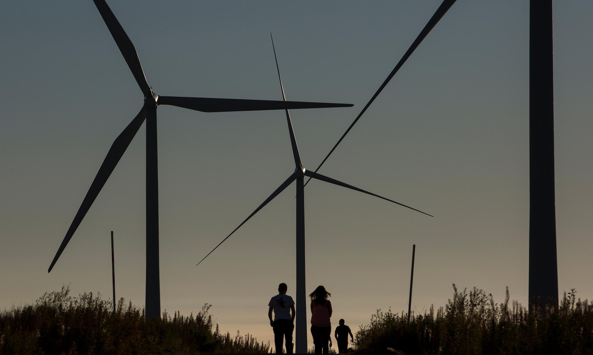 By 2040, wind and solar would account for 45% of the global power mix. (Photo: Alamy Stock Photo)