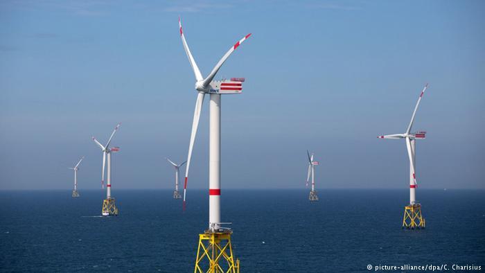 Windpark Nordsee Ost