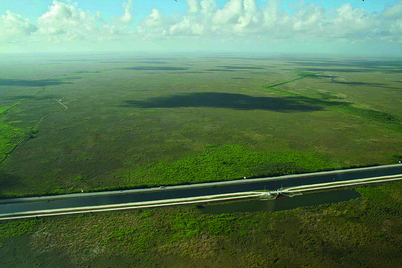 The Everglades National Park is in Carlos Curbelo's district. (National Park Service photo, Wikimedia Commons)