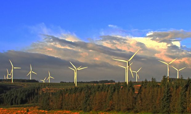 Pen y Cymoedd wind project near Swansea (Photo: Vattenfall)