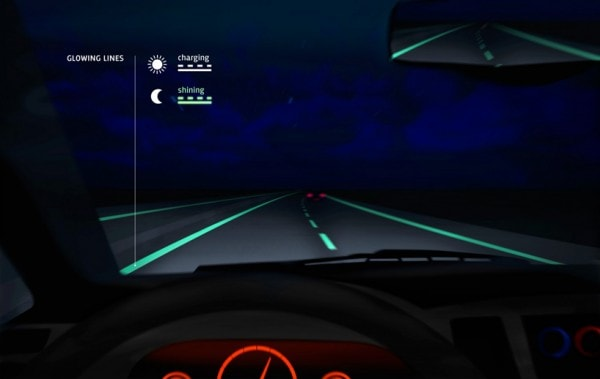 Glowing Lanes on a Smart Highway