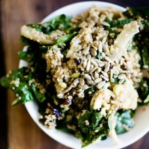 Sweet Balsamic Fennel and Quinoa Salad