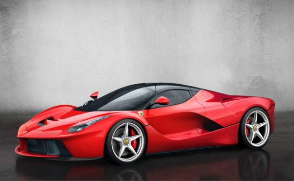 La Ferrari hybrid car