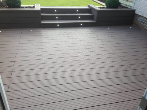 composite decking projects greener