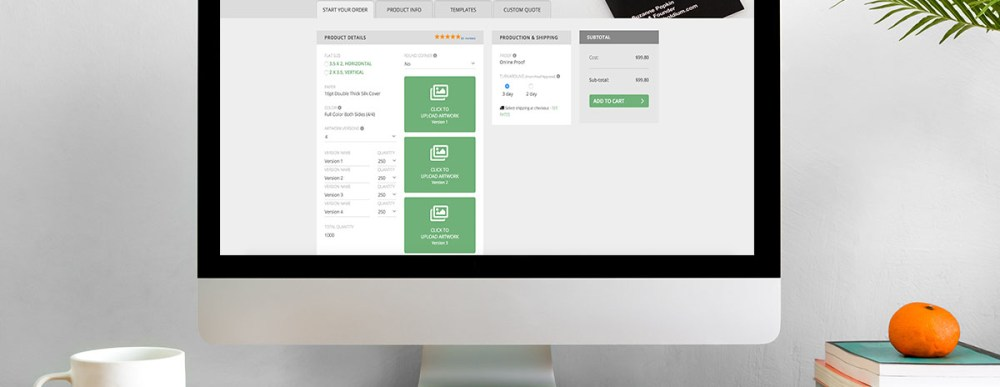 Updated standard business card ordering tools greenerblog standard business card colourmoves