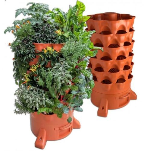 Garden Tower 2 – Plant Composting Container Garden Apartment Living