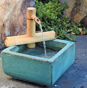 Bamboo Zen Mini Water Fountain Apartment Living