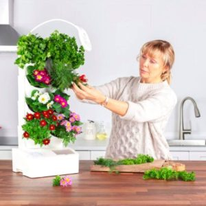 BlueSkyGrow Self Watering Vertical Planter Apartment Living [tag]