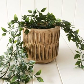 Small Natural Timber Planter eBay