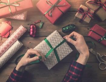 Ökorrekte Geschenkverpackung