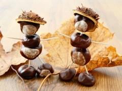 Esskastanien, oder nicht verzehrbare Kastanien und was du damit machen kannst