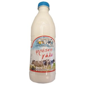 βιολογικό αγελαδινό πλήρες γάλα λιβαδερό