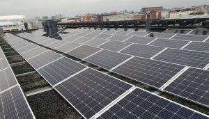 Aurinkovoimala Nordean pääkonttorin