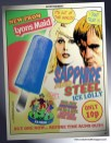 Sapphire and Steel lolly ad