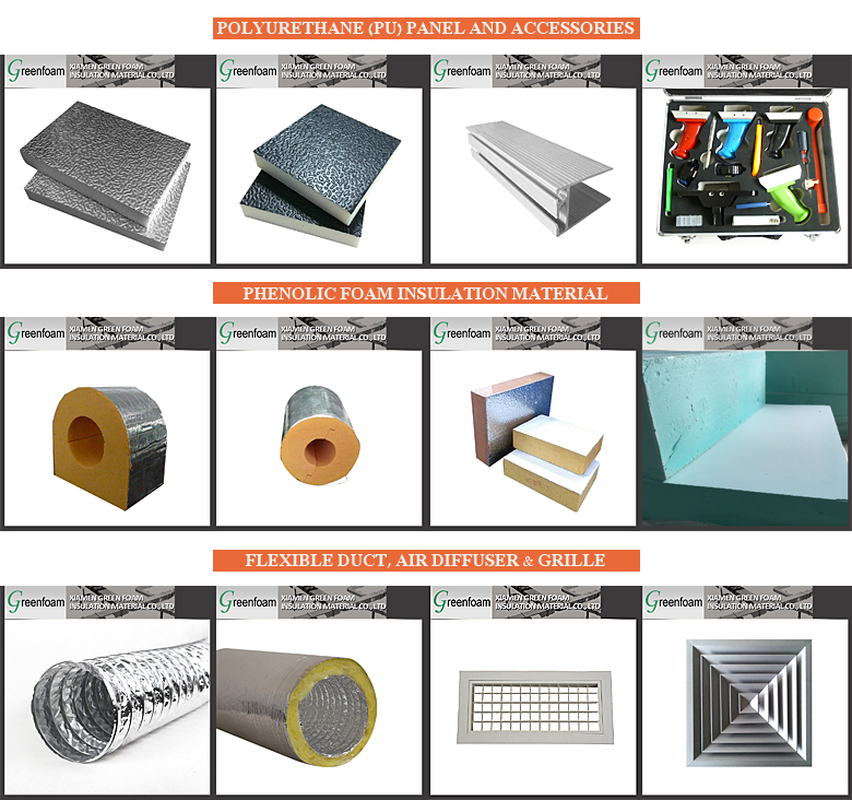 PIR Pre-insulated Duct Hot Selling Products