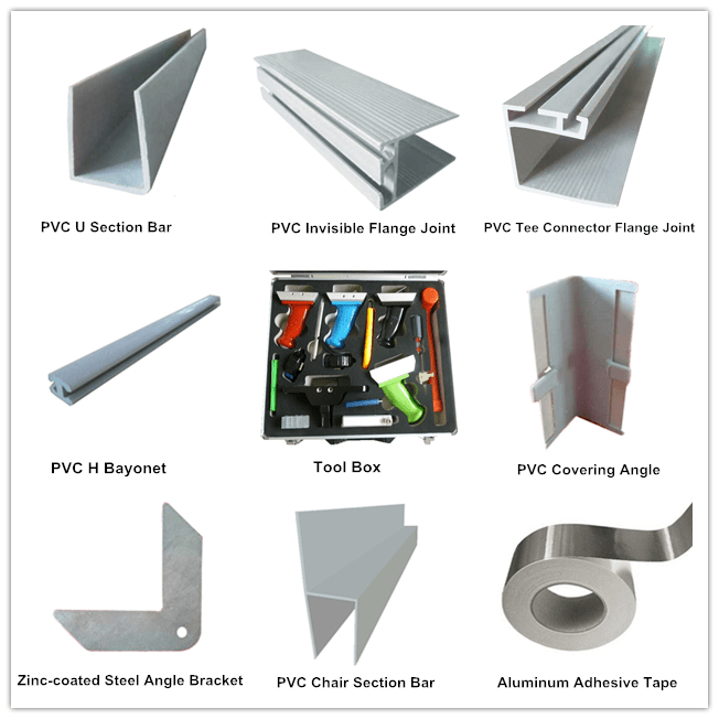 PIR Pre-insulated Duct Related Accessories
