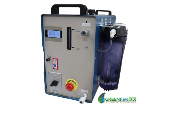 Hydrogen carbon cleaning machine