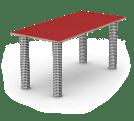 Ein fast runder Tisch. (Foto: rund:Stil)