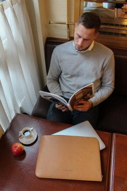By Blanch: Laptoptaschen aus veganem Leder. (Foto: By Blanch)