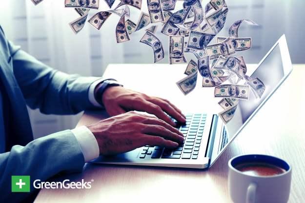 make money with website