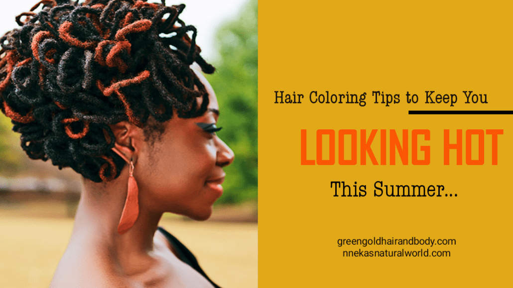Hair coloring tips to make you look hot this summer
