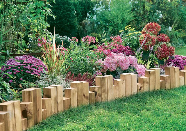 Timber Garden Edging