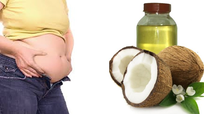 Lose Belly Fat With Coconut Oil