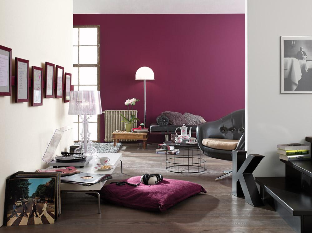 raumgestaltung mit farbe rote akzente setzen, besser bunt | greenhome, Design ideen