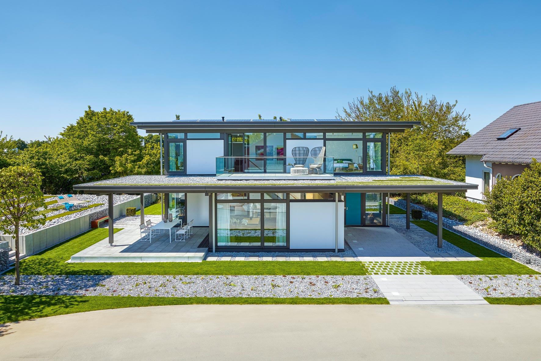 huf haus modum gr nes fachwerkhaus greenhome. Black Bedroom Furniture Sets. Home Design Ideas