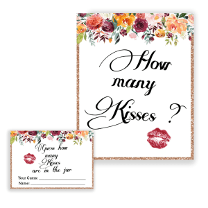 How many kisses game
