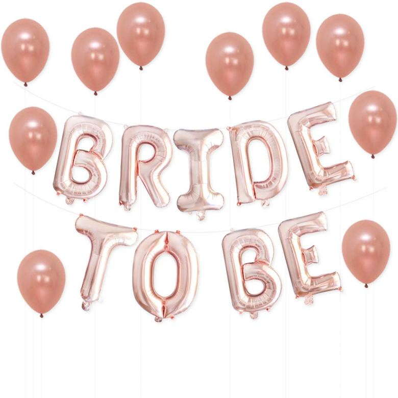 Bride to be balloons