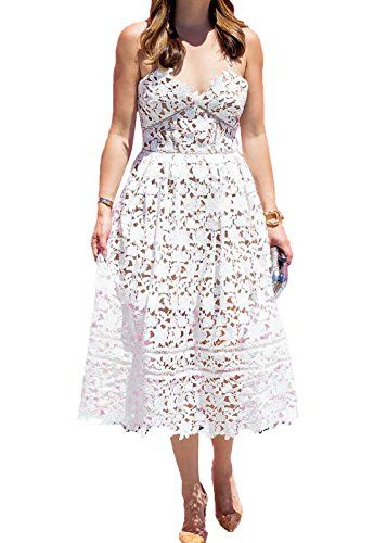 lace white bridal shower dresses for the bride