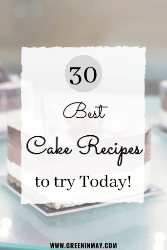 Best cake recipes to try today