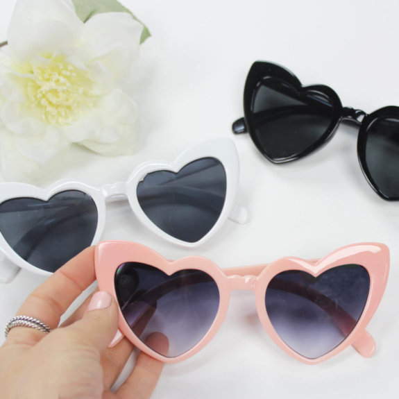 Bridal shower favors sunnies