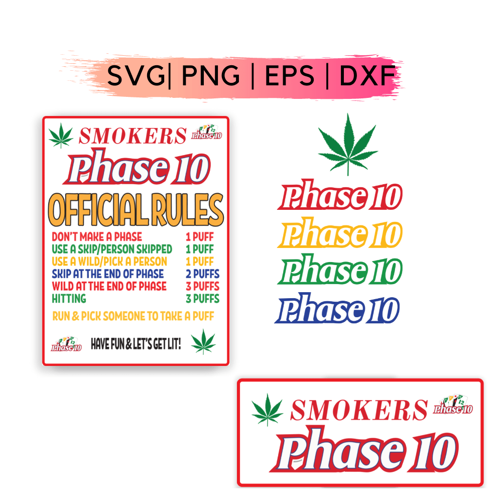 Smokers Phase 10 SVG
