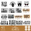 Afro SVG Bundle