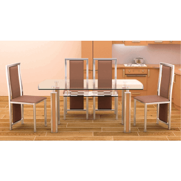 Rectangle Eating Table, Dining Set