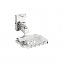 stainless steel soap dish wall mount - The Green Interio