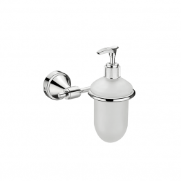 Stainless Steel Liquid Soap Dispenser Holder - The Green Interio