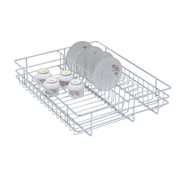 Merveilleux Stainless Steel Kitchen Basket, Kitchen Drawer Basket, Cup And Saucer  Drawer Basket, Stainless