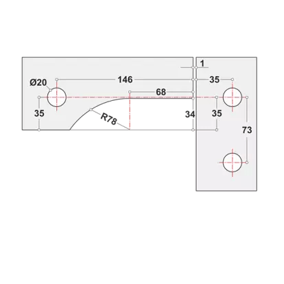 Diagram for Big L patch Fitting - The Green Interio