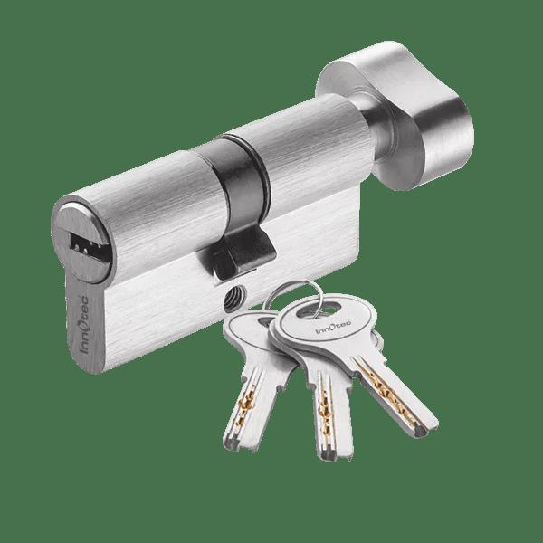 Mortice Lock Cylinder One Side Key One Side Knob