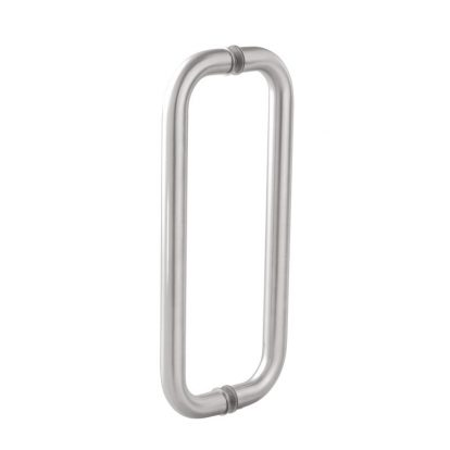 Glass Door Pull Handle O Type For Office