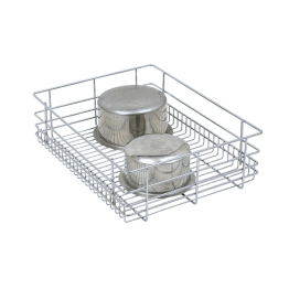 Plain Wire Baskets, Plain Drawer Wire Basket, Storage Baskets - Plain Wire Drawer Baskets - Kitchen Rack Manufacturers- Storage Wire Baskets