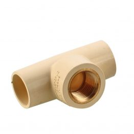 "CPVC Brass TEE, CPVC 1 Inch Brass TEE Fittings, C PVC Brass Tee, C PVC TEE Brass Fittings 3/4"" - The Green Interio"