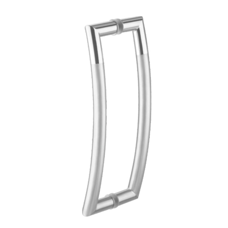 D Type Glass Door Pull Handle 22mmx350mm Ss304 Innotec