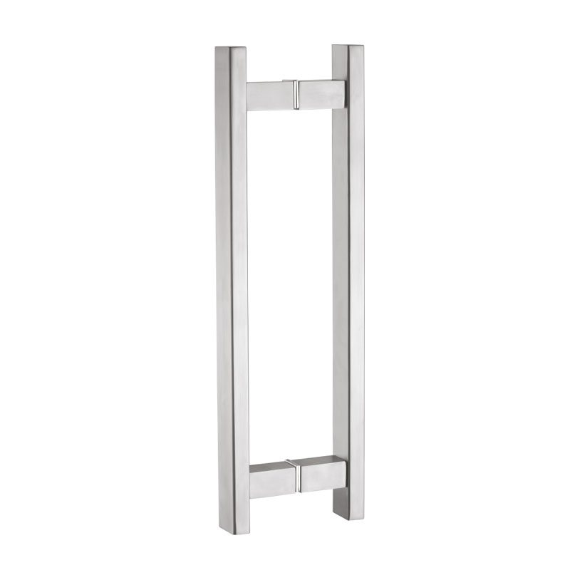 Glass Door Pull Handle H Type 1530x300mm Ss304 Innotec