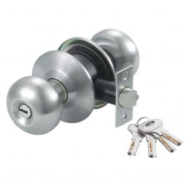 Entrance Cylindrical door knob Lockset - The Green Interio