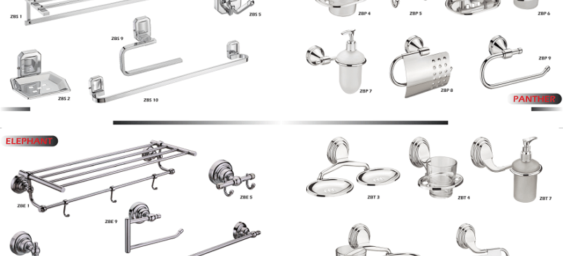 Stainless Steel 304 Bathroom Accessories sets online in India - The Green Interio Rajkot, Gujarat