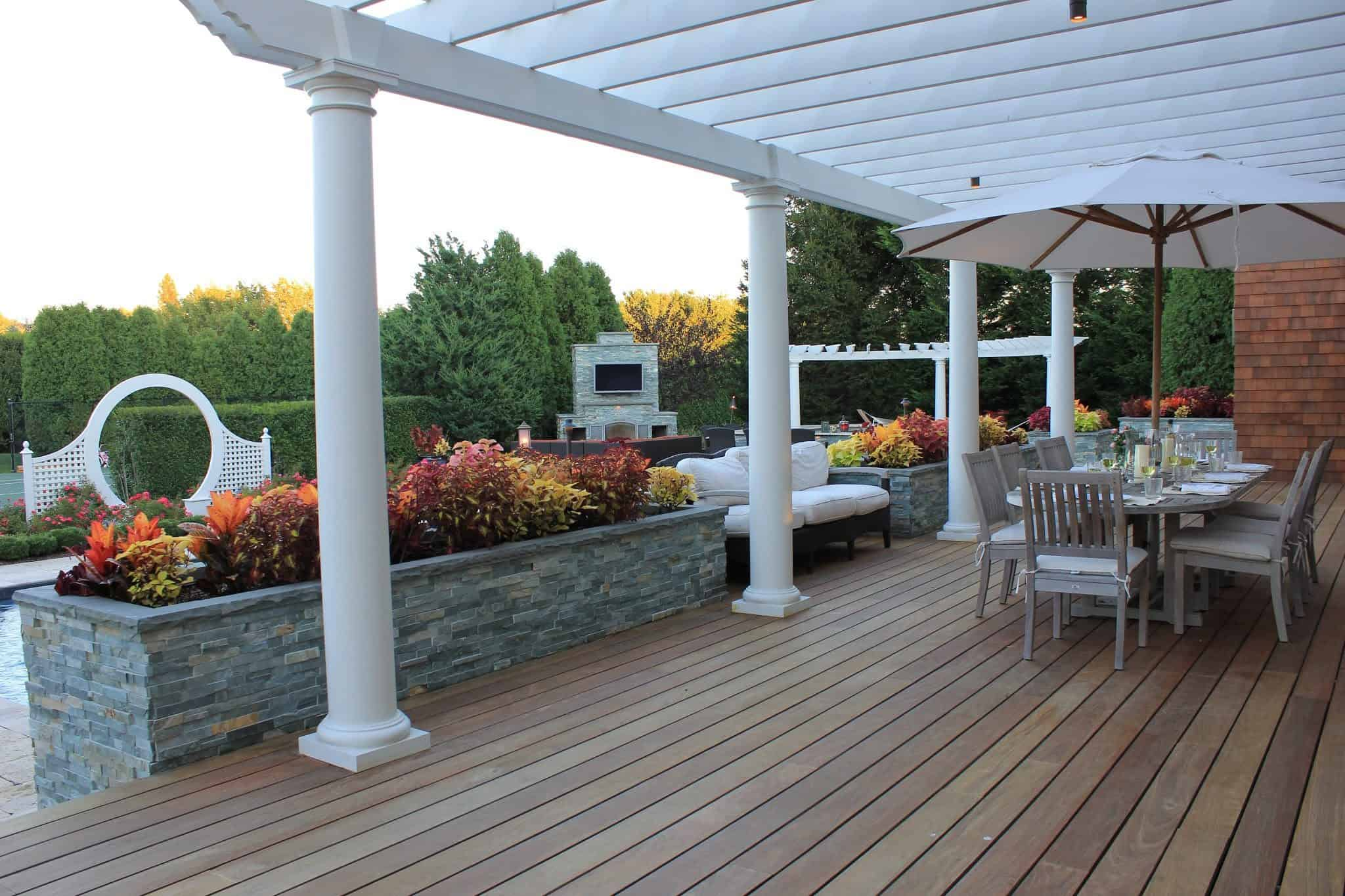 Custom Carpentry Pergolas Long Island